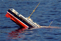 Startups and large companies: your end of the boat is sinking ...